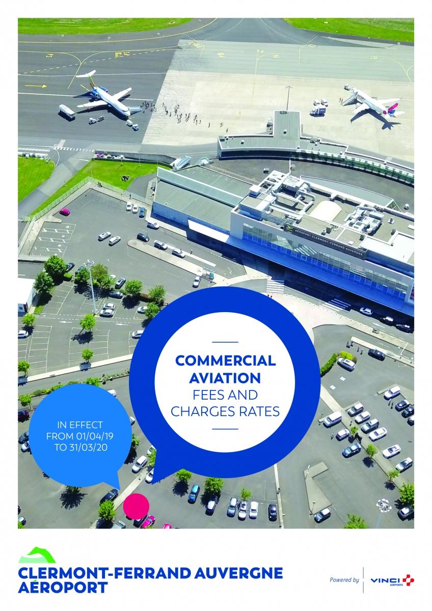 Comercial Aviation | Aéroport Clermont Ferrand